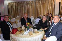 Dr. Julio Rodríguez decano de la FIM, Dr. Orlando Aguilar Director de Investigación, Mgtr. Analida Sanjur de Miranda Vicedecana de la FII, Dr. Israel Ruíz decano de la FII.