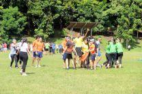 Disputados estuvieron los juegos y competencias desarrolladas en el ECORALLY de la Semana de la Ingeniería Civil.