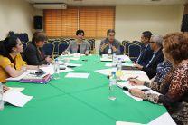 El Dr. Arístides Royo  fue invitado de honor en  la reunión del Consejo Editorial.