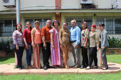 Autoridades y Administrativos del Centro Regional de Azuero conmemoraron el Dia de la Etnia Negra.