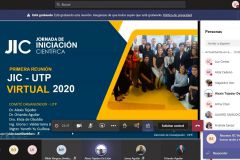 Jornada de iniciación científica – UTP Modalidad: virtual- síncrono