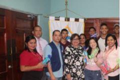 Estudiantes de la UTP donaron un kit de limpieza bucal
