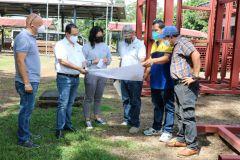 Construcción de futura instalación de Acelerógrafos en la UTP Chiriquí.
