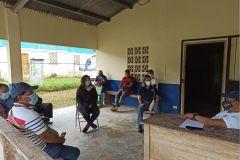 Investigadores de CINEMI y CEPIA mantuvieron reunión en la Cooperativa Solarys R.L., durante gira en la Provincia de Bocas Del Toro.