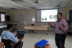Doctor Henrique Tenorio, de la UTP, presenta resultados de su tesis doctoral.