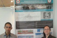 Estudiante de la Facultad de Ingeniería Eléctrica y la Dra. Aránzazu Berbey.