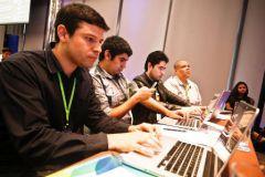 Asistentes en el WebConfLatino 2012 que se realizó en Panamá. Fotos Roberto Brev