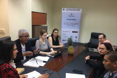 Reunión de avance del proyecto en la UTP y en UNACHI.