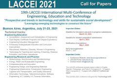 Afiche conferencia LACCEI-2021.
