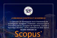 El IESTEC es un Congreso organizado por la Universidad Tecnológica de Panamá.