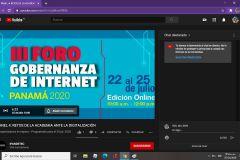 III Foro de Gobernanza de Internet 2020.