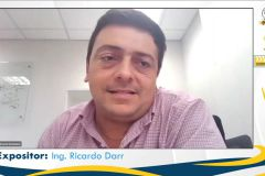 Ing. Ricardo Darr, expositor.