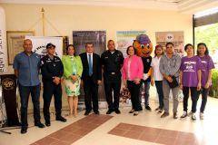 """El lanzamiento oficial de la Campaña de Prevención, """"Universidad Segura"""", le correspondió al Dr. Julio Rodríguez, en su calidad de Rector Encargado de la UTP."""