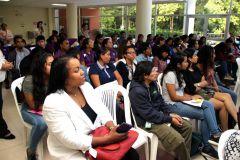 La UTP celebró con conferencia y sketch teatral el día de la no violencia.
