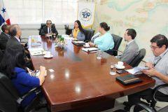 Una visita académica realizó la Universidad de Luisiana en la sede de la Universidad Tecnológica de Panamá.