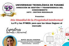 Celebración del Día Mundial de la Propiedad Intelectual - La PI y Las PYMES: para que las ideas lleguen al mercado.