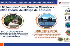 Diplomado en Cambio Climático y Gestión Integral del Riesgo de Desastres.