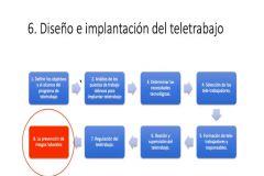 Diseño e implementación del Teletrabajo.