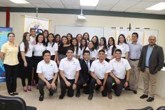 Estudiantes de IV Año de Licenciatura en Ingeniería Industrial