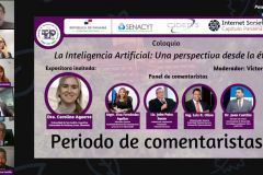 Coloquio internacional: La importancia de la Ética en la aplicación de la Inteligencia Artificial.