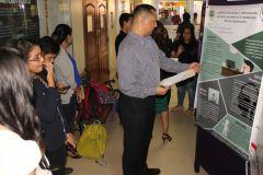 Participaron estudiantes de las Facultades de Ingeniería Industrial, Ingeniería Civil e Ingeniería Eléctrica.