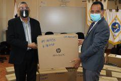 Donación de computadoras para UTP Veraguas.