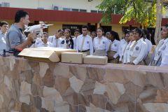 Estudiantes de Escuela Secundaria de Veraguas visitan UTP Veraguas