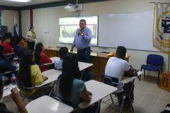 Estudiantes que van a iniciar en la UTP reciben seminario.