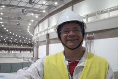Dr. Evgeni Svenk Cruz de Gracia realiza pasantía en el Centro Nacional de Investigación en Energía y Materiales