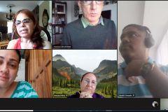 Miembros del Comité Editorial de la Revista Prisma Tecnológico se reúnen.