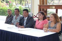 Miembros del Gran Jurado de Elecciones de la UTP.