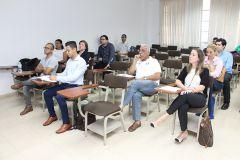 Con la asistencia de instituciones y estudiantes de tesis se presentó el Proyecto de Lodos Orgánicos.