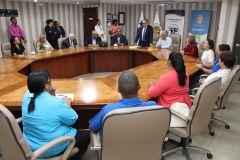 Participaron de la firma del convenio Autoridades de la UTP, y Asesora del Alcalde e invitados especiales