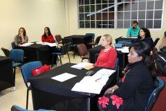 Estudiantes del Diplomado en Creación Literaria 2018,l primer día de clases en la UTP.