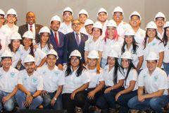 Imposición de Cascos a 48 nuevos Ingenieros Eléctricos