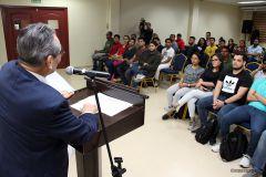 Rector de la UTP se reúne con estudiantiles para analizar los artículos 99 y 104