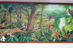 Develación de Mural Panabiomas