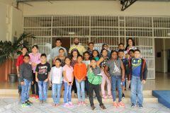 Participantes y docentes del curso de Matemáticas.