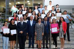 Primera Graduación del Curso de Portugués en la UTP.