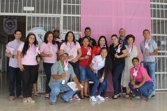 UTP en Bocas del Toro, conmemora el mes de la prevención del cáncer.