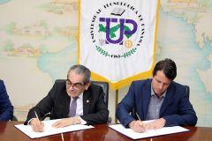 UTP firma Convenio Marco con Cervecería  Nacional