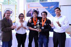 Premiación de Primer Concurso Universitario en la UTP