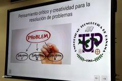 "Rector de la UTP inaugura taller Workshop ""Building your Resilience Through Experience"