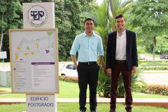 Daniel Enrique Vargas y Juan Felipe Acevedo, estudiantes ganadores de la beca ELAP.