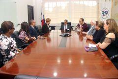 El Rector, Ing. Héctor M. Montemayor, se reunió con la Directora del Instituto  de Innovación Empresarial de Georgia Tech.