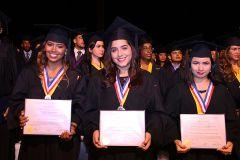 Estudiantes Distinguidos en la Ceremonia de Graduación Promocion 2017.