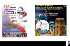 Actividades de inauguración del III Congreso de Ingeniería Civil.