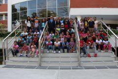 Este año participan 51 niños, entre hijos, sobrinos y nietos de colaboradores de la UTP.