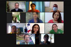 """Participantes en el acto de Inauguración del Curso: """"La Investigación y sus procesos para colaboradores del IPHE."""
