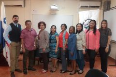 Dirección del DIIU y Enlaces realizan reunión.